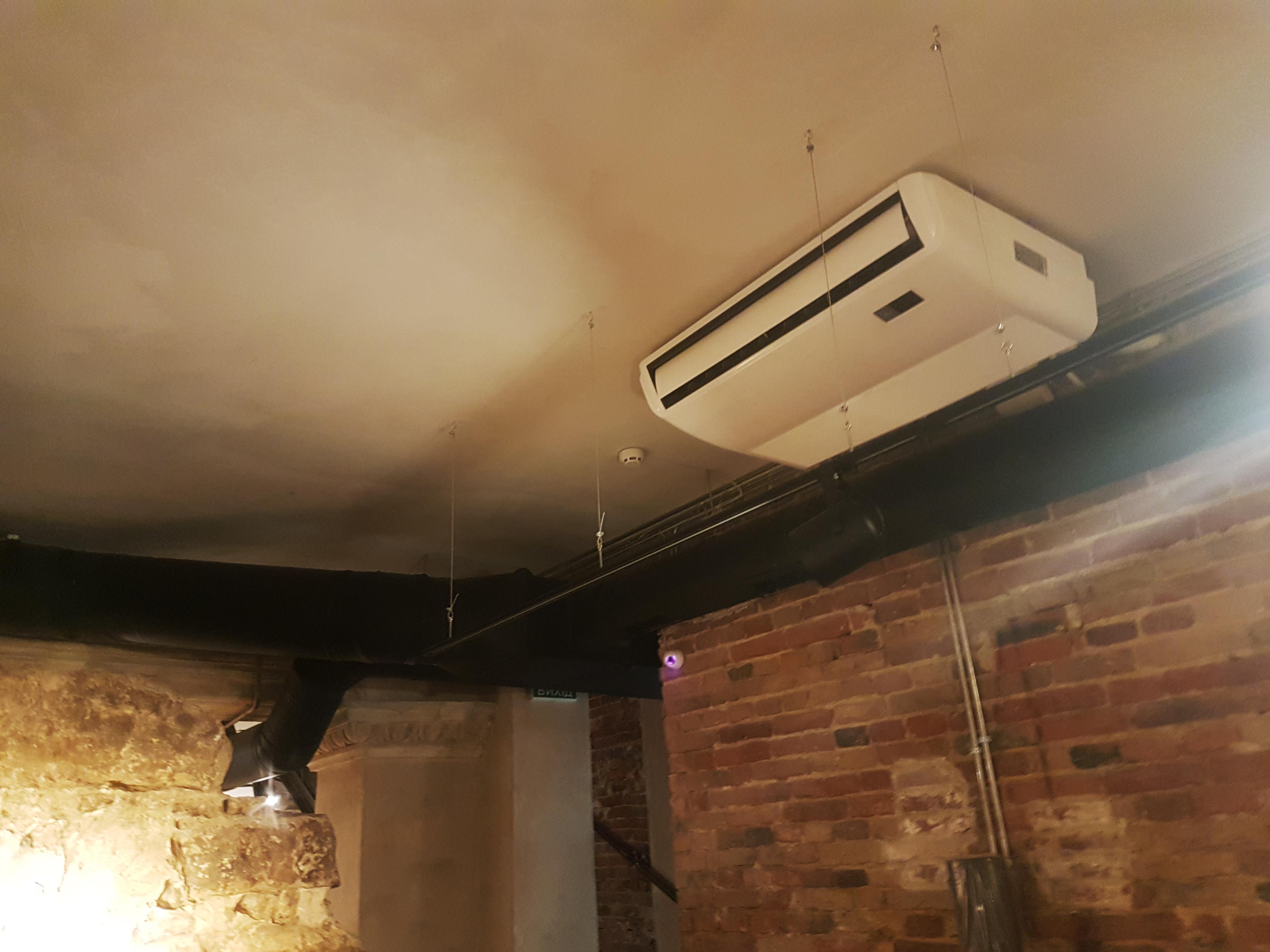 вентиляция в ресторане