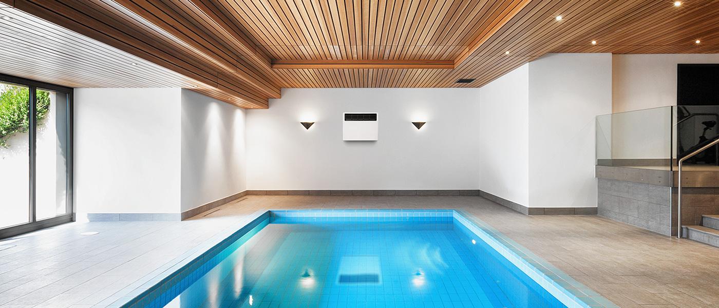Навіщо в закритих басейнах встановлюють осушувачі повітря